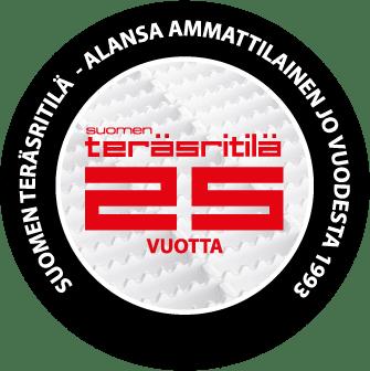 Suomen Teräsritilä STR Oy 25 vuotta