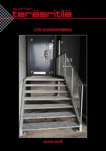 STR Suoraporras esite | Suomen Teräsritilä