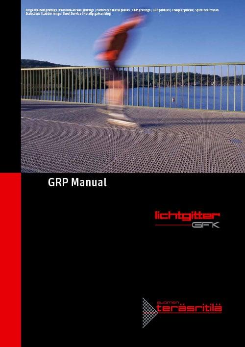 GRP Manual, Lichtgitter - Suomen Teräsritilä