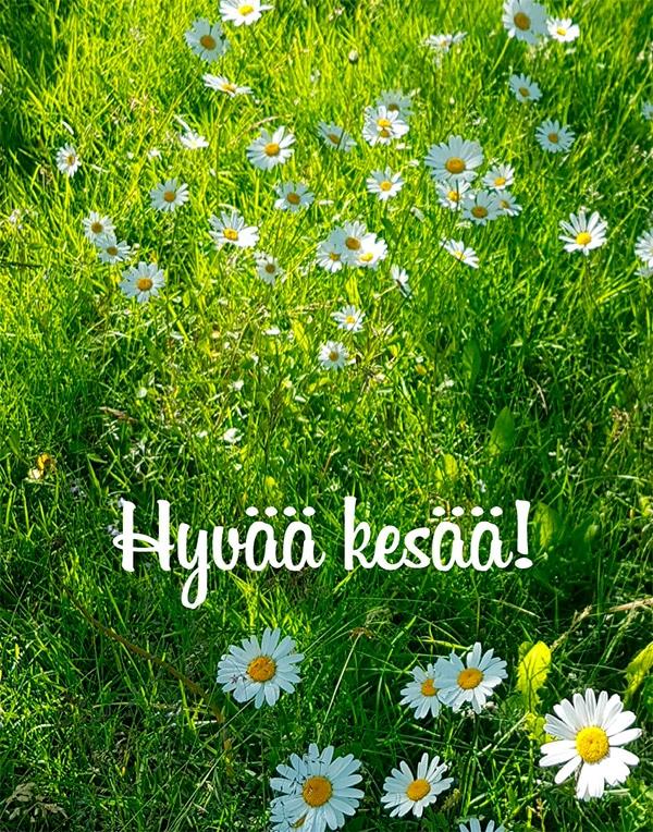 Hyvää kesää!