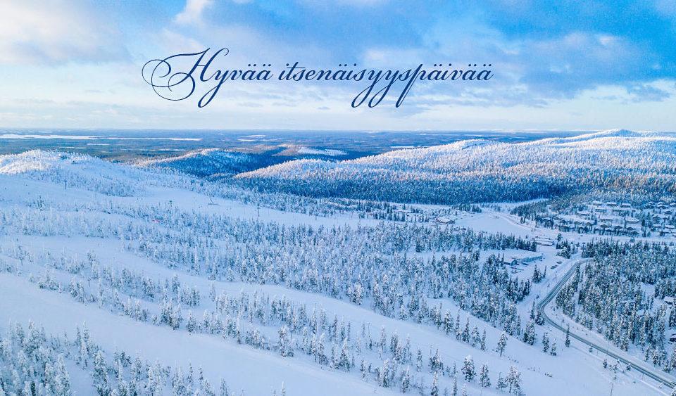 Hyvää itsenäisyyspäivää toivottaa Suomen Teräsritilä