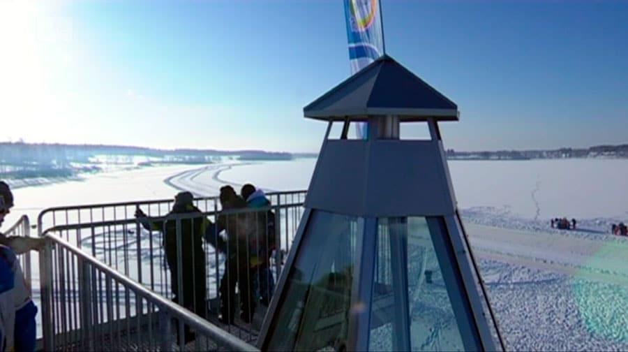Alavuden kaupunki tilasi Suomen Teräsritilältä tuotteet Alavuden yhdistettyyn näkötorniin ja kota-laavuun, josta Yle Uutiset Pohjanmaa uutisoi 23.2.2018.