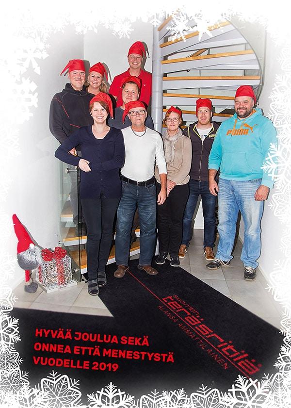 Suomen Teräsritilä STR Oy toivottaa hyvää joulua 2018!