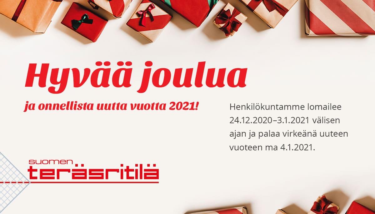 Suomen Teräsritilän joulutervehdys